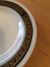 Pair of vintage 70s Pyrex Ebony pattern Bread Plates image 3