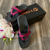 Merrell Siren Flip Flops Sport Sandals Slip On Slides Arch Support Women... - $59.37