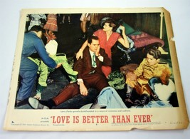 Love is Better Than Ever Movie Lobby Card Vintage 1961 MGM Larry Parks - $19.99