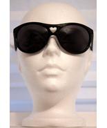 MOSCHINO Black SUNGLASSES Heart SIDE LOGO MO50001 Free Shipping - $112.17