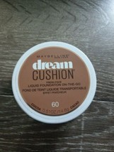 Maybelline New York Dream Cushion Liquid Foundation On-The-Go  Cocoa 60.... - $9.75
