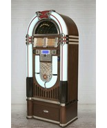 New LED color shifting Bluetooth ready Crosley music jukebox CD player r... - $1,759.00