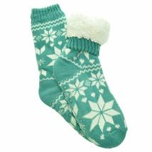 Angelina Women's 3 Pack Christmas Sherpa Lined Thermal Socks with Gift Tags image 6