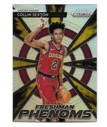2018-19 Panini Prizm Freshman Phenoms Collin Sexton Silver Prizm Insert ... - $16.83