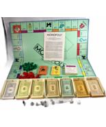 Vintage 1985 Parker Brothers Monopoly Board Game - $34.18