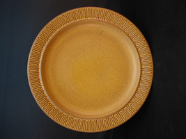 Red Wing Pottery Ceramastone Solid Gold Flecked  Dinner Plate - Was Disp... - $22.95