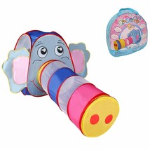 Baby Play Tent Elephant Tunnel Playtent Tube For Kids - $25.40
