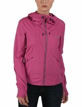 Bench Onetimer II Hoody Packable Jacket Adjustable Drawstring Pink BLKA1910 NWT image 1