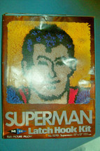 Vintage 1978 Superman Latch Hook Kit    Unused/MIB     Free Shipping - $36.75