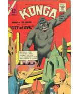 Konga #16 VG; Charlton | low grade comic - save on shipping - details in... - $13.99