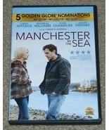 MANCHESTER BY THE SEA Widescreen DVD No Scratches Casey Affleck Michele Williams - $8.00