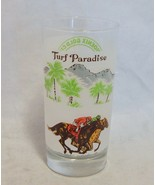 1985 Turf Paradise Phoenix Gold Cup 30th Running Horseracing Glass - $15.84