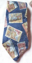 "Necktie Geoffrey Bean ""Chinatown on Broadway"" Italian Silk  Men's Neck T... - $8.49"