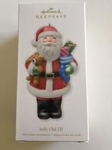 Hallmark Keepsake Jolly Old Elf Glass Christmas Ornament New In Box - $11.87