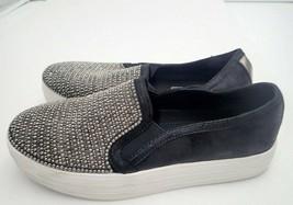 Skechers Women's Double up Shiny Dancer Fashion Sneaker Black 6 M - $23.94