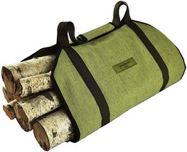 Sergisson Firewood Carrier - Log Tote Bag - Wood Carrying Bag for Firepl... - $12.19