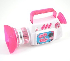 Mattel Barbie Camcorder Toy 2010 Pink White Plastic Collectible - $12.44