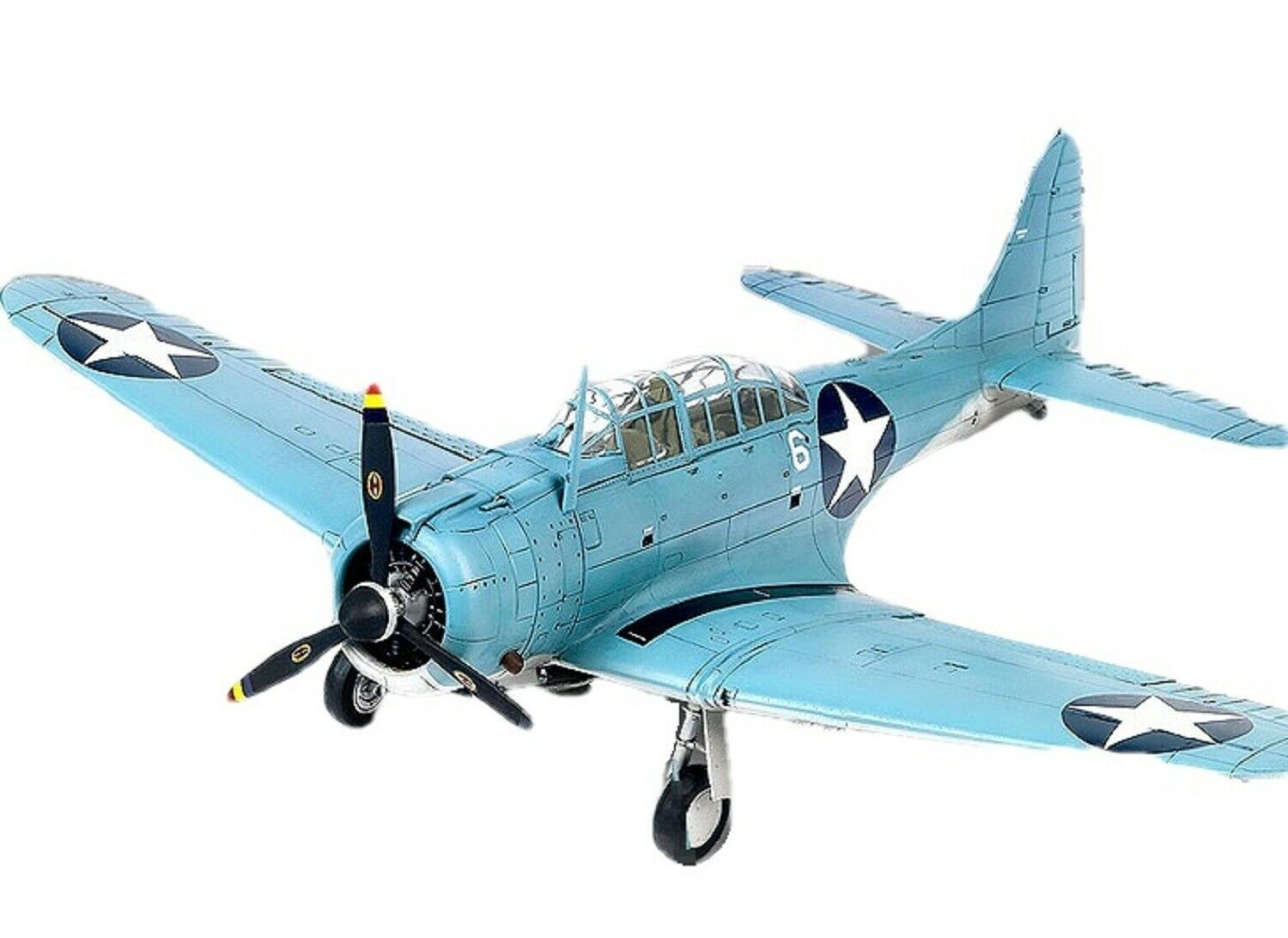 Academy 12335 USN SBD-2 Battle of Midway Plamodel Plastic Hobby Model Airplane