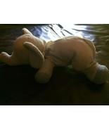 Carters Child of Mine Blue plush Elephant floppy baby stuffed animal  - $19.79
