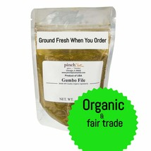 Organic Gumbo File Powder (Ground Fresh When You Order) - $12.59