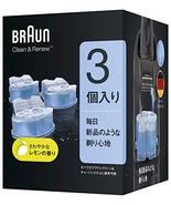 Braun Clean & Renew Cleaning Solution Cartridge Only Ccr3cr (Pack of 3) ... - $60.64
