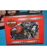 Harley Davidson  *2003 COLLECTOR TIN W/PLAYING CARDS*  2 packs sealed ca... - $13.99