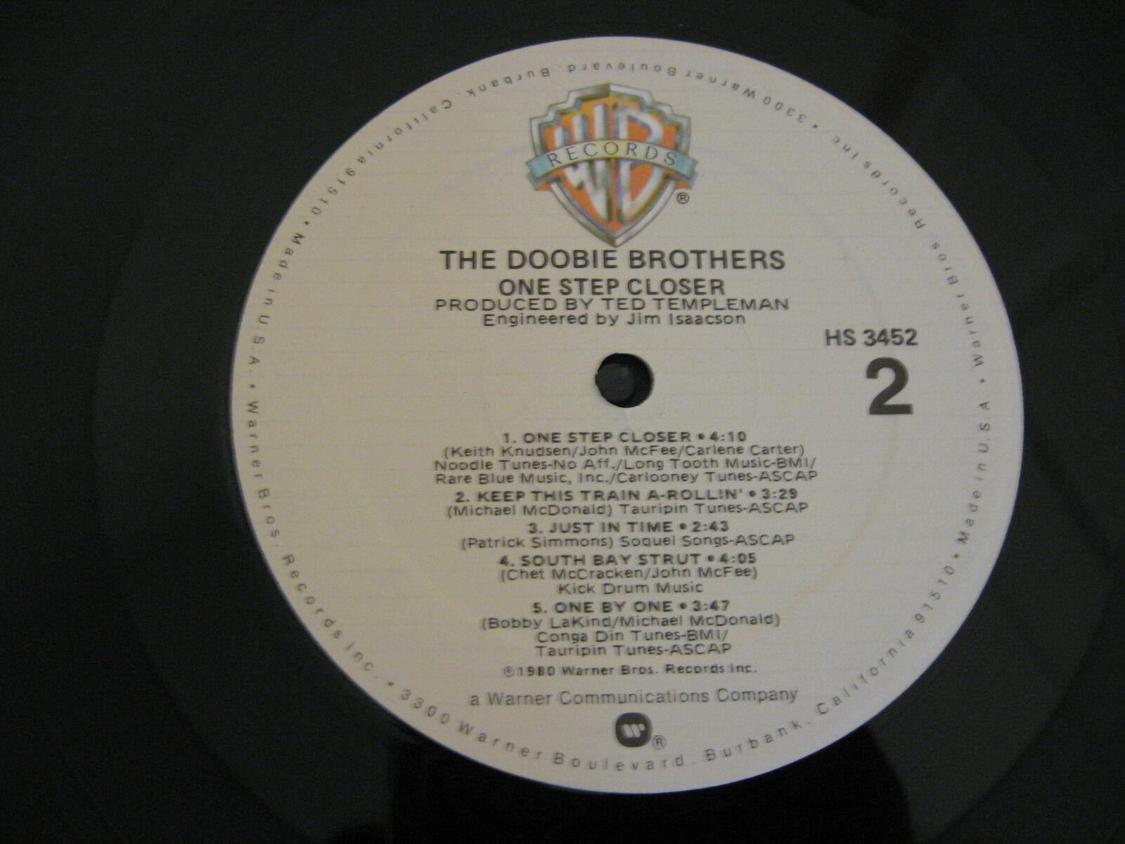 The Doobie Brothers One Step Closer Warner Bros HS3452 Stereo Vinyl LP image 7