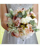 "Wedding Flowers Bouquets Wedding Bead Polyester Satin Foam 12.2""(Approx.... - $67.99"