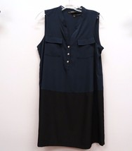 ALFANI Size 8 8P Petite Navy Blue Black Color B... - $27.99