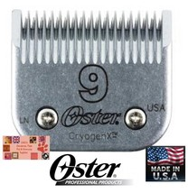 Genuine Oster A5/A6 Cryogen X # 9 Blade*Fit Most Andis,Wahl Clippers Pet Grooming - $28.49