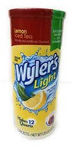Wyler's Soft Drink Mix Iced Tea with Lemon Makes 12 Qts - $9.33