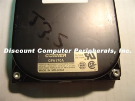 Conner CFA170A 170MB 3.5 inch IDE Drive Tested Free USA Shipping Our Dri... - $47.97