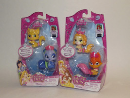 Set of 2 Disney Princess Palace Pets Minis Teacup Nuzzles Blossom Summer New (H) - $25.73