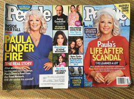 Lot of 2 People Magazine Issues w/ Paula Deen • July 8 2013 & March 10 2014 - $9.85
