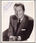 Actor Robert Taylor Original Signed B&W 8x10 Photo Autograph - $174.75
