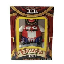 M&M's Red Nutcracker Candy Dispenser Limited Edition Holiday Collectible - $16.40