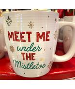 Disney Parks Meet Me Under the Mistletoe Mickey Minnie Christmas Holiday... - $24.90