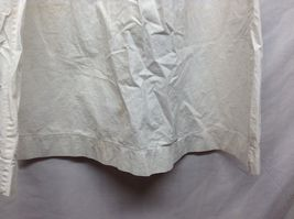 Vintage Off White Linen Button Up Baby Dress  image 8