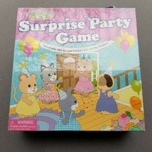 Calico Critters Surprise Party Decorating Game Board Game New - $33.24