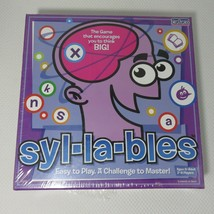 Syl-La-Bles Game Cadaco Educational Board Game NEW Syllables  - $39.55