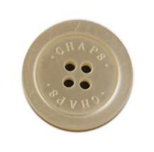 "Chaps Ralph Lauren White Main Front Replacement  button .90"" - $5.89"