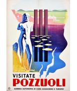 "20x30""Poster on Canvas.Home Room Interior design.Travel Italy.Pozzuoli.6531 - $60.78"