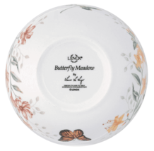 Lenox Butterfly Meadow Serving Salad Bowl Home is Where The Heart Is NEW image 5