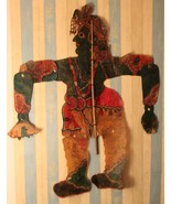 Shadow puppet traditional playing shadow art 19th century collectible art. - $664.23