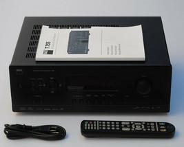 NAD T 755 Audio Video Surround Sound Receiver w/ Printed Manual & Remote... - $365.00