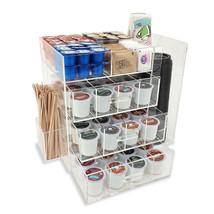 New! Acrylic Coffee Station - Keurig KCUPS/CREAMER/SUGAR/CUPS/STIRRER Organizer - $89.05