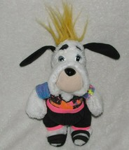 """Ace Novelty Co Inc Stuffed Plush Droopy Dog 1990 7.5"""" Neon 80s Outfit - $22.76"""