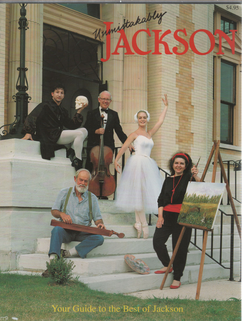 Primary image for Unmistakably Jackson III Tennessee 1990 Magazine