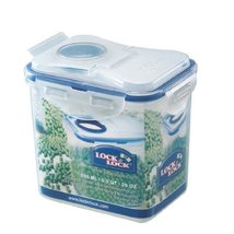 Lock&Lock 29-Fluid Ounce Rectangular Food Container with Flip Lid, Tall, 3-1/2-C - $21.77