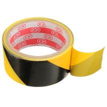 45mm Black and Yellow Self Adhesive Hazard Warning Safety Tape Marking Safety Ca image 3